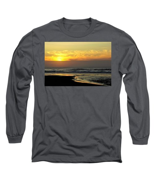 Solo Sunset On The Beach Long Sleeve T-Shirt