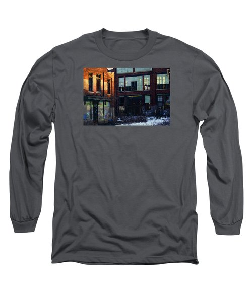 Long Sleeve T-Shirt featuring the digital art Solvay Coke by David Blank