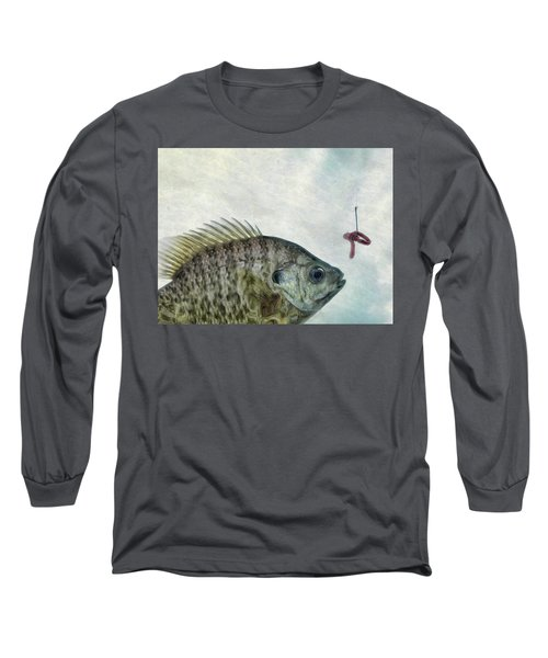 Something Fishy Long Sleeve T-Shirt by Mark Fuller