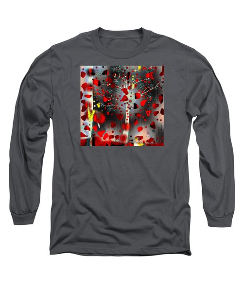 Long Sleeve T-Shirt featuring the digital art Lift Me Up by Yul Olaivar