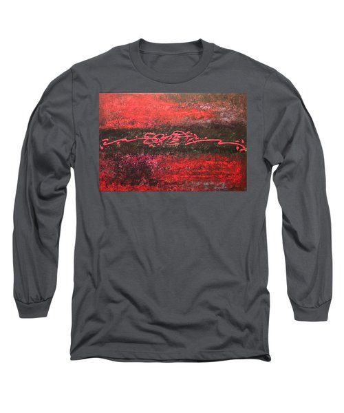 Something In Red Long Sleeve T-Shirt