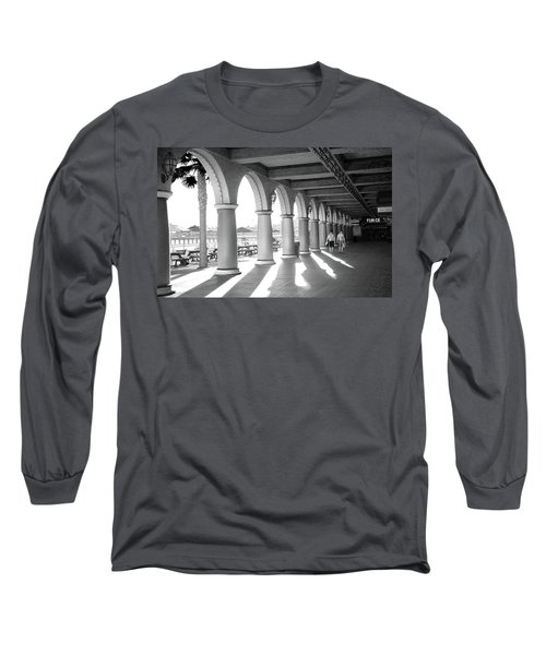 Long Sleeve T-Shirt featuring the photograph Sometimes The Party Is Over by Lora Lee Chapman