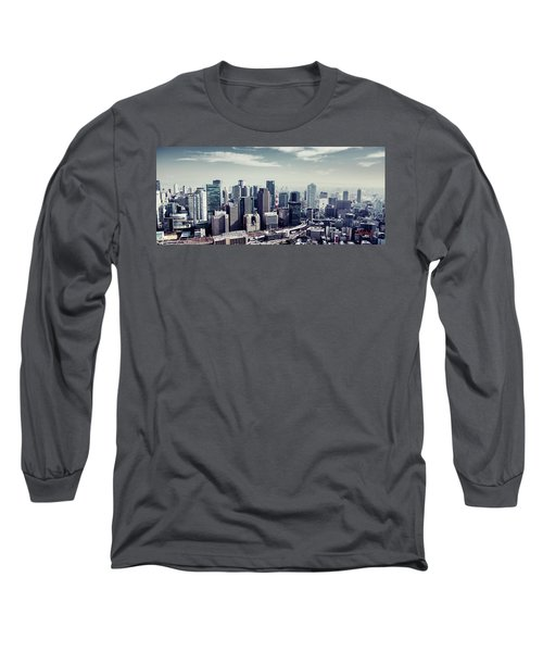 Long Sleeve T-Shirt featuring the photograph Somewhere In Japan by Joseph Westrupp