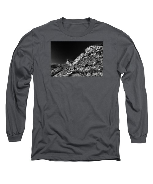 Long Sleeve T-Shirt featuring the digital art Somewhere In Mesa Verde by William Fields
