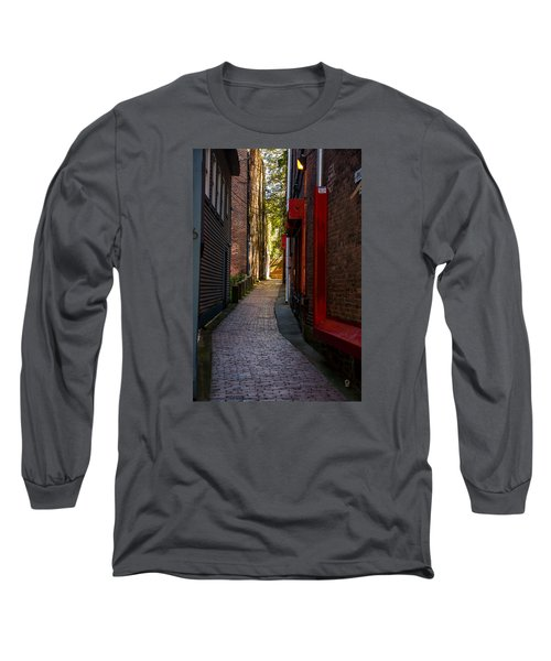 Somewhere In Newport Long Sleeve T-Shirt
