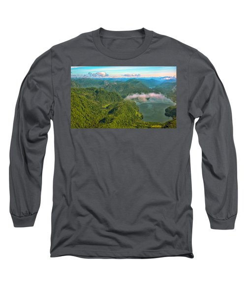 Long Sleeve T-Shirt featuring the photograph Over Alaska - June  by Madeline Ellis