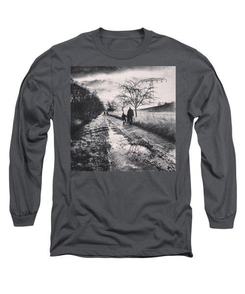 *sonntagsspaziergang  #landscape Long Sleeve T-Shirt