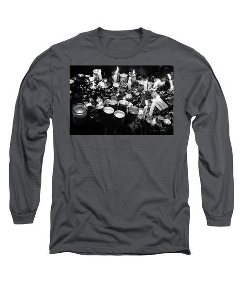 Soul Candles II Long Sleeve T-Shirt by Yoel Koskas