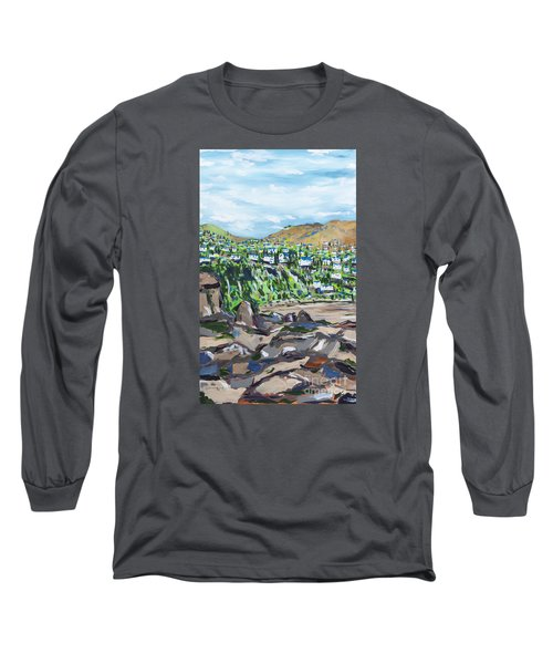 South African Coastline Part One Long Sleeve T-Shirt