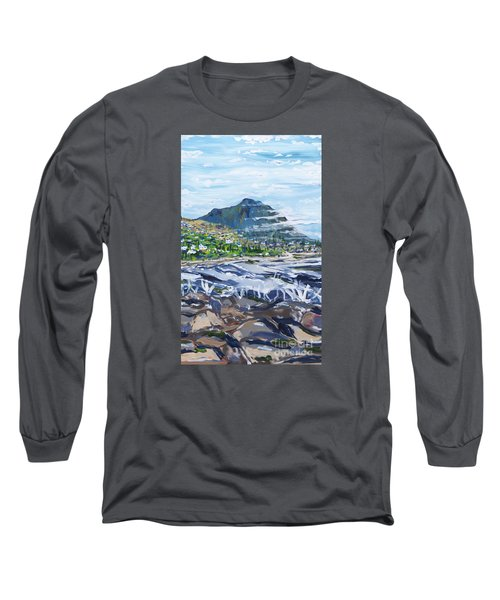 South African Coastline Part Three Long Sleeve T-Shirt