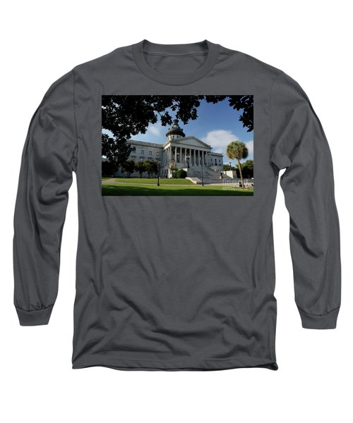 South Carolina State House 2 Long Sleeve T-Shirt by Michael Eingle