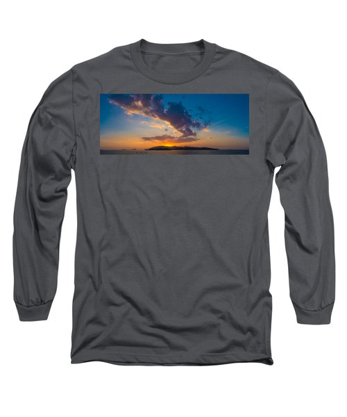 South China Sea Sunset Long Sleeve T-Shirt