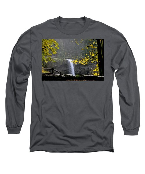 South Falls Of Silver Creek Long Sleeve T-Shirt