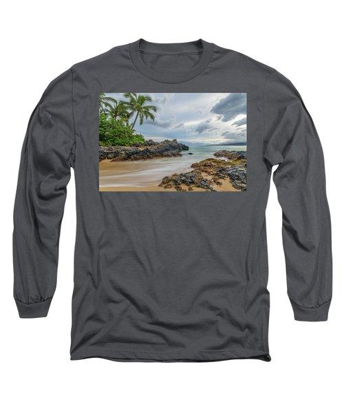 South Maui Secret Beach Long Sleeve T-Shirt