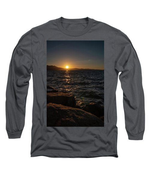 South Shore Sunset Long Sleeve T-Shirt