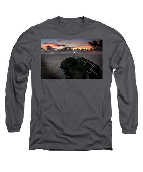 South Stack At Sunset Long Sleeve T-Shirt