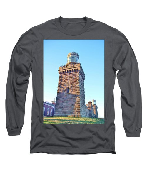 South Tower Of Twin Lights Long Sleeve T-Shirt
