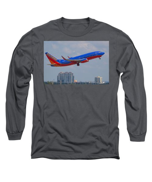 Southwest Airlines Long Sleeve T-Shirt