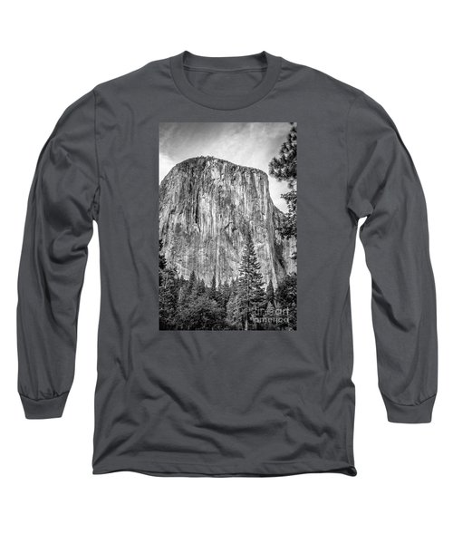 Southwest Face Of El Capitan From Yosemite Valley Long Sleeve T-Shirt