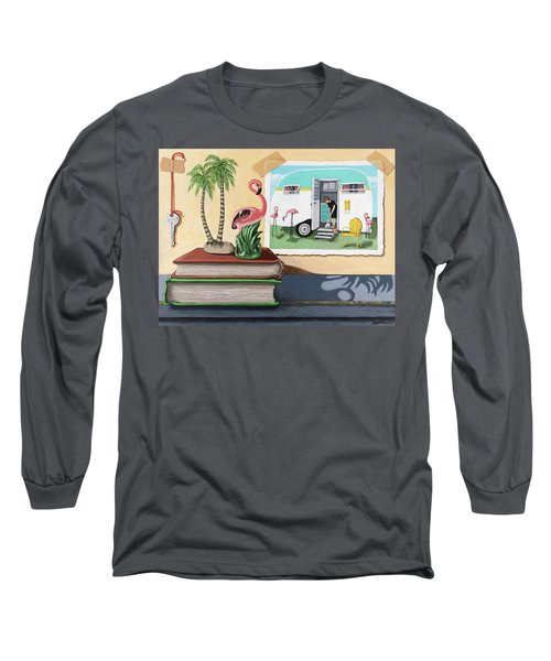 Souvenir Memories - Still Life Original Painting Long Sleeve T-Shirt