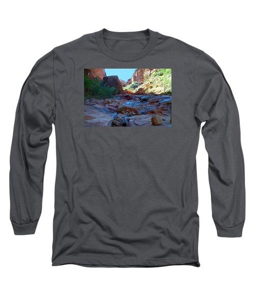 Sowats Creek Kanab Wilderness Grand Canyon National Park Long Sleeve T-Shirt