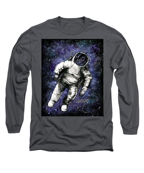 Spaaaaace Long Sleeve T-Shirt by Arleana Holtzmann