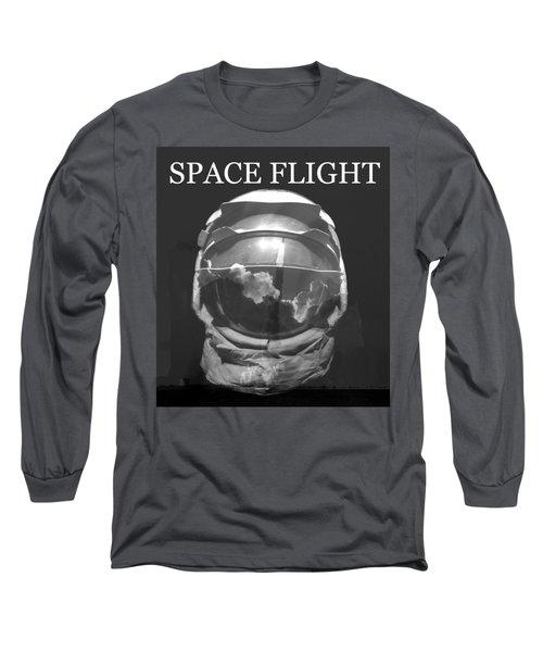 Space Flight Long Sleeve T-Shirt by David Lee Thompson