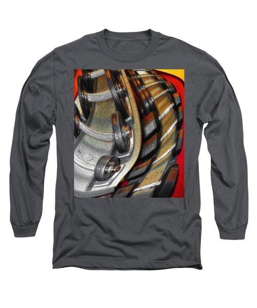 Space Geometry #3 Long Sleeve T-Shirt