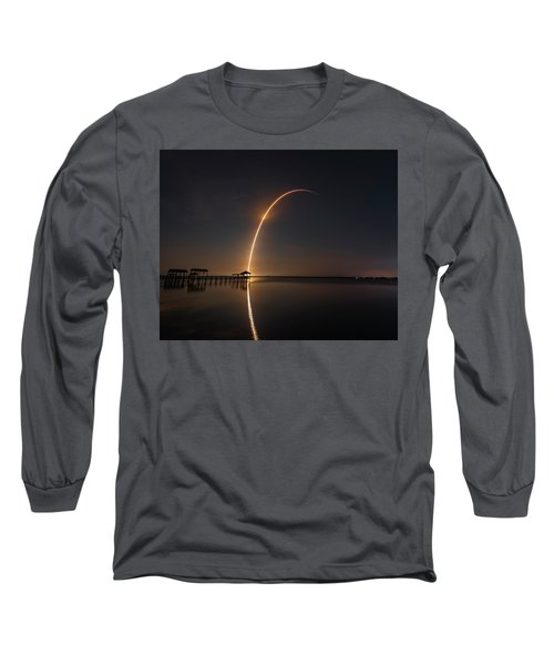 Spacex Falcon 9 Long Sleeve T-Shirt