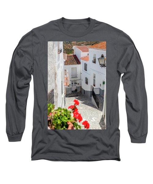 Spanish Street 3 Long Sleeve T-Shirt