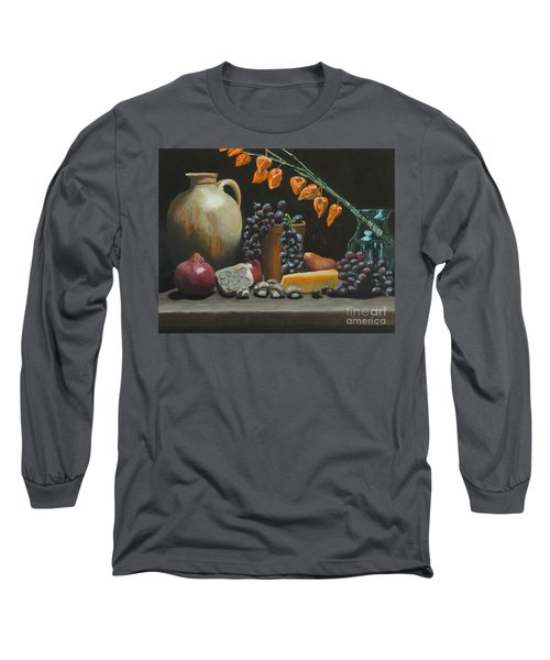 Spanish Urn And Japanese Lantern Long Sleeve T-Shirt