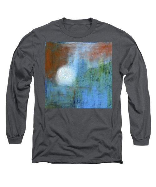 Long Sleeve T-Shirt featuring the painting Sparkling Sun-rays by Michal Mitak Mahgerefteh