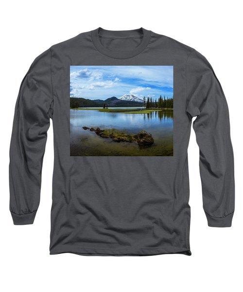 Sparks Lake, Oregon Long Sleeve T-Shirt