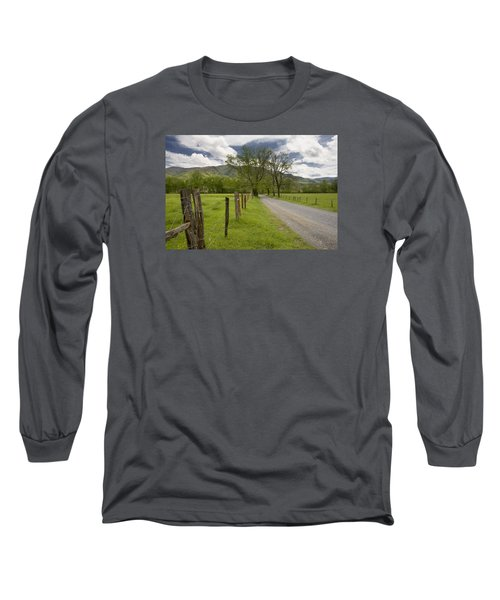 Sparks Lane In Cade Cove Long Sleeve T-Shirt