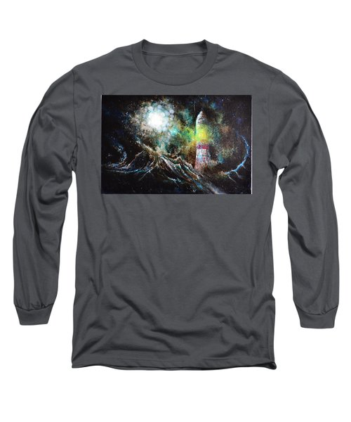 Sparks - The Storm At The Start Long Sleeve T-Shirt by Sandro Ramani