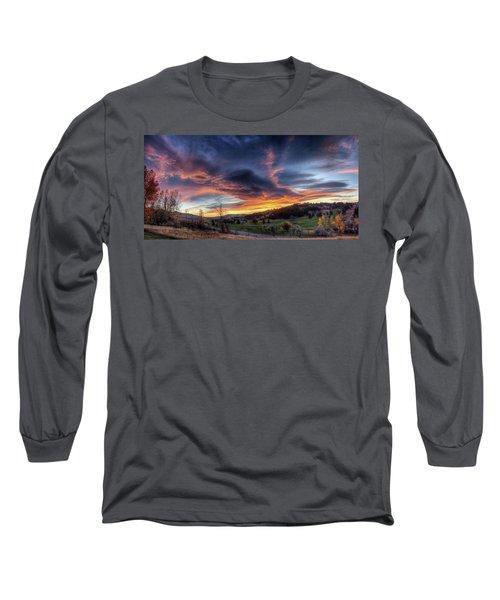 Spearfish Canyon Golf Club Sunrise Long Sleeve T-Shirt
