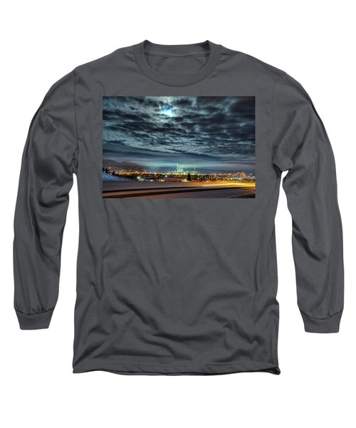 Spearfish Under The Moon Long Sleeve T-Shirt by Fiskr Larsen