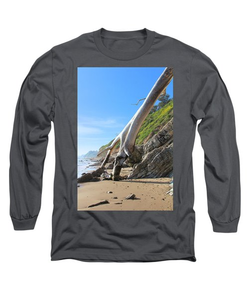 Long Sleeve T-Shirt featuring the photograph Spears On The Coast by Viktor Savchenko