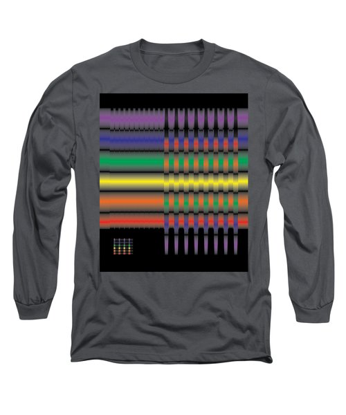 Spectral Integration Long Sleeve T-Shirt by Kevin McLaughlin