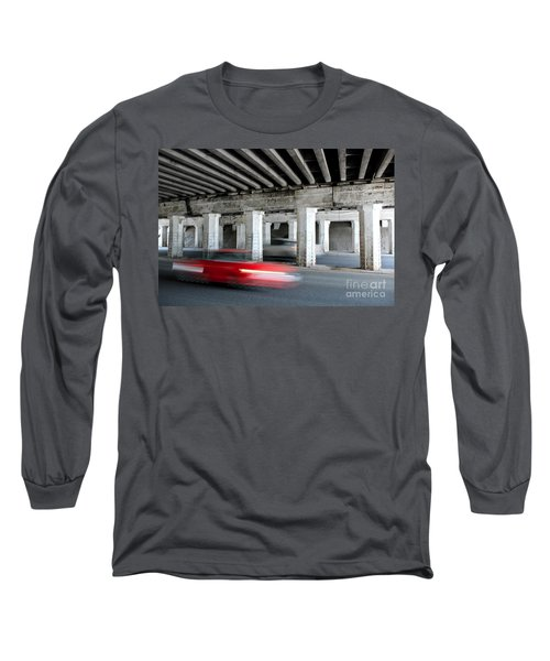 Speeding Car Long Sleeve T-Shirt