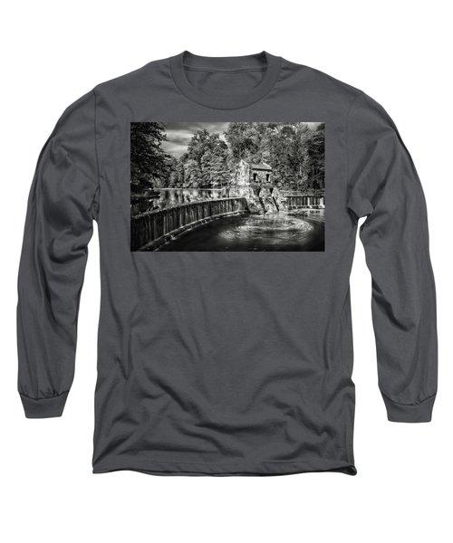Long Sleeve T-Shirt featuring the photograph Speedwell Swirls by Eduard Moldoveanu