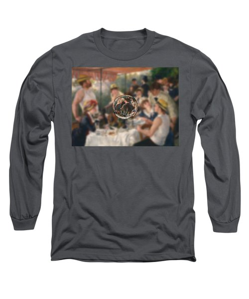 Sphere 4 Renoir Long Sleeve T-Shirt by David Bridburg