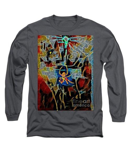 Long Sleeve T-Shirt featuring the photograph Spider by Karen Newell