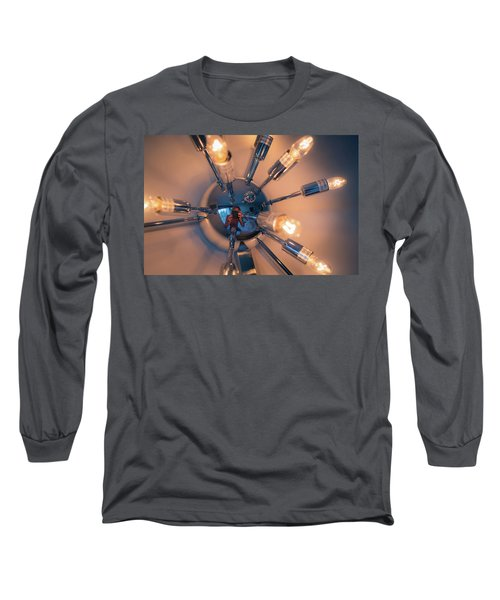 Spider Light Reflected Portrait Long Sleeve T-Shirt