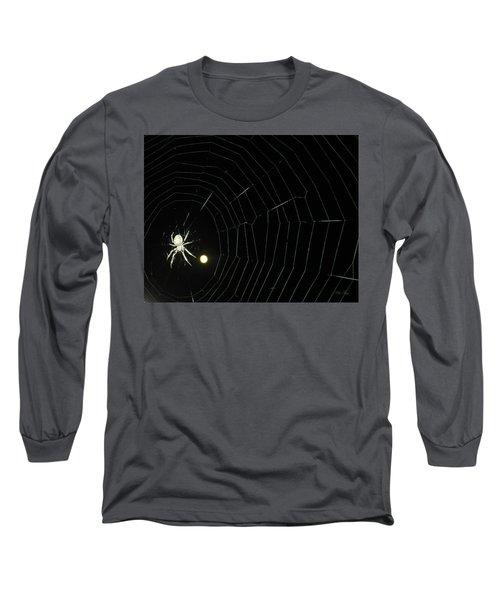 Spider Moon Long Sleeve T-Shirt