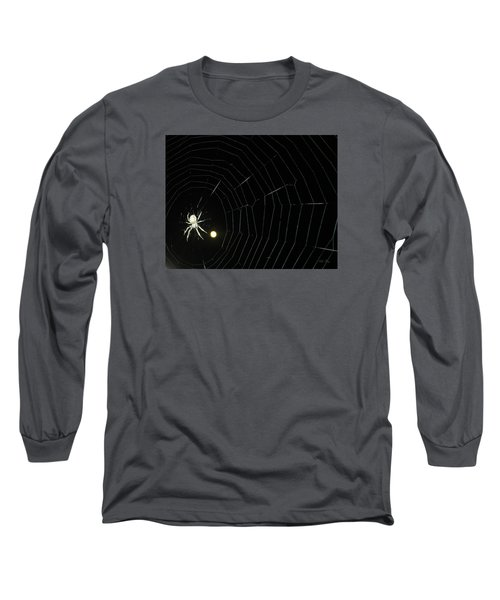 Spider Moon Long Sleeve T-Shirt