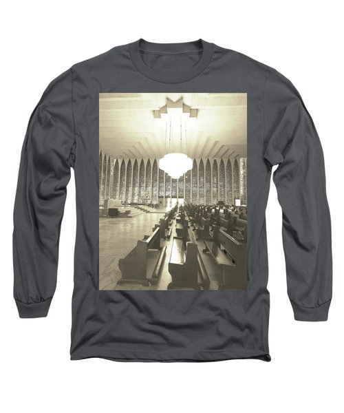 Long Sleeve T-Shirt featuring the photograph Spritual Connection by Beto Machado
