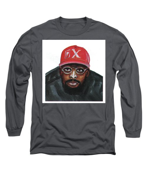 Spike Lee Long Sleeve T-Shirt by Emmanuel Baliyanga