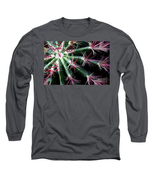 Spikes Long Sleeve T-Shirt by Ana Mireles