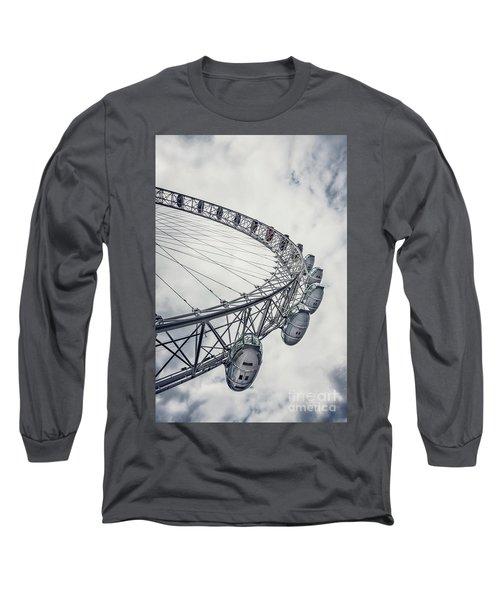 Spin Me Around Long Sleeve T-Shirt by Evelina Kremsdorf